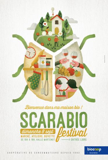 Magasin Bio Rennes Biocoop Scarabee Scarabio Festival 2019